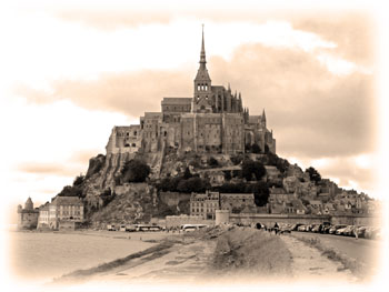 Mont St Michel, Normandiet
